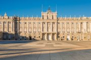 Front of the Royal Palace in Madrid
